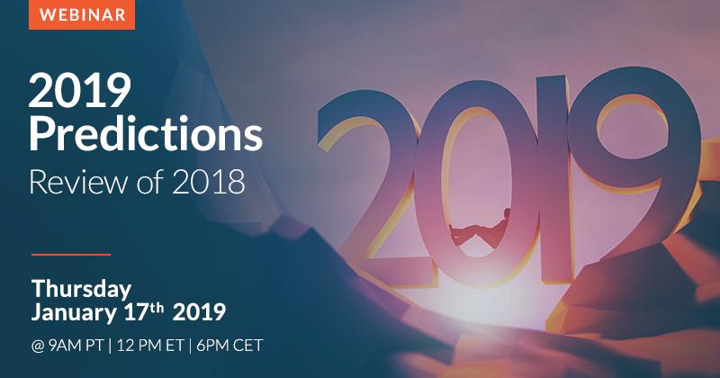 Momenta 2019 Predictions webinar