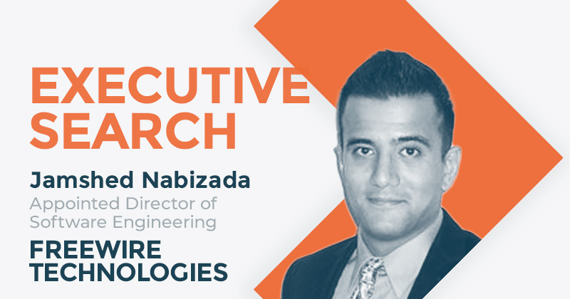 FreeWire Technologies Appoints Jamshed Nabizada